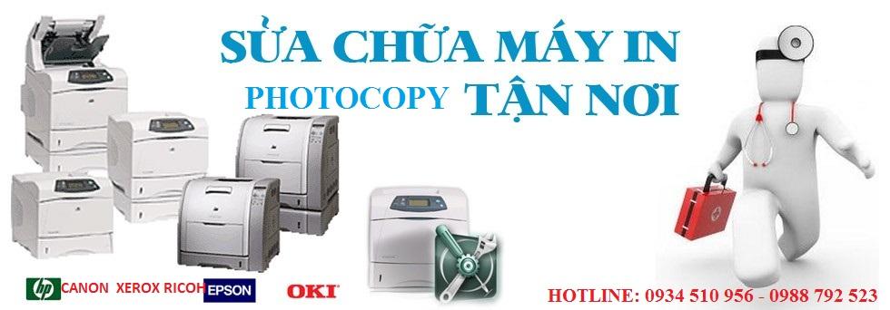Máy in, máy photo, sửa máy in tại nhà hà nội với chi phí thấp, chất lượng luôn được đặt lên hàng đầu