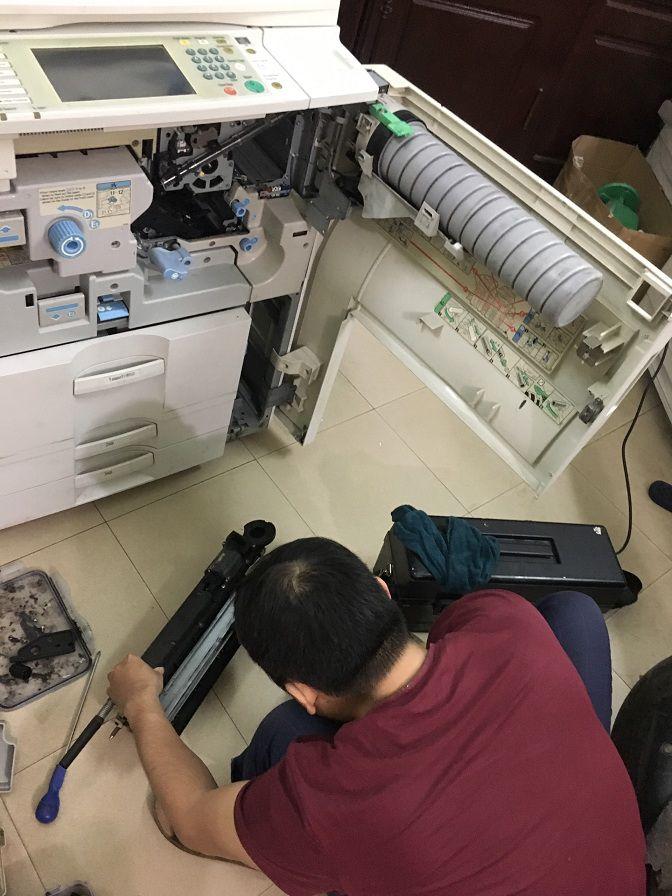 Đổ mực máy photocopy Ricoh tại Hà Nội gọi 0934.510.956
